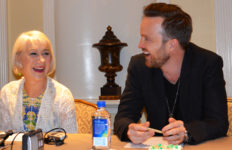 Helen Mirren and Aaron Paul. Photo ©Dorri Olds